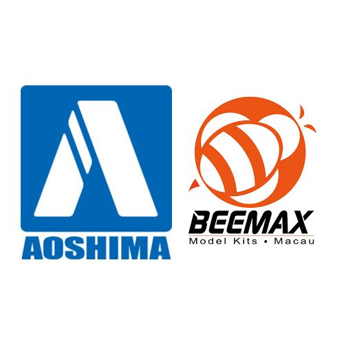 Maquetas de coches Aoshima/Beemax 1/24