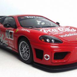 Ferrari 360 Challenge Easy Kit Revell: Conversión a GT3