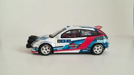 Ford Focus WRC Scalextric Altaya