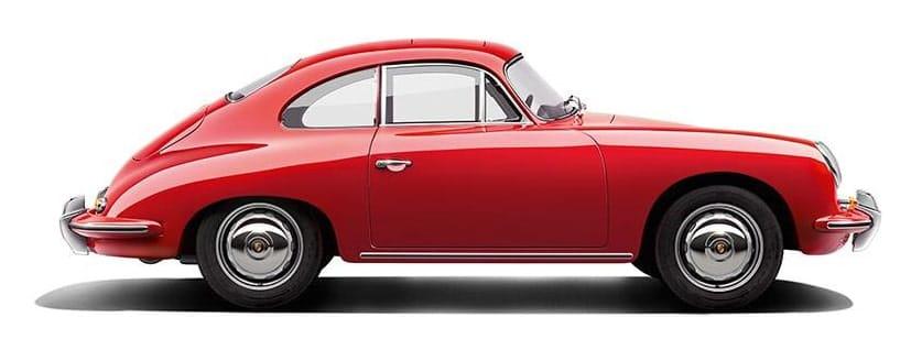 Maquetas de Coches Revell Porsche 356 1/16