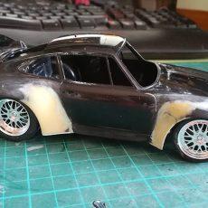 Tamiya Porsche 911 GT2 – Parte 1