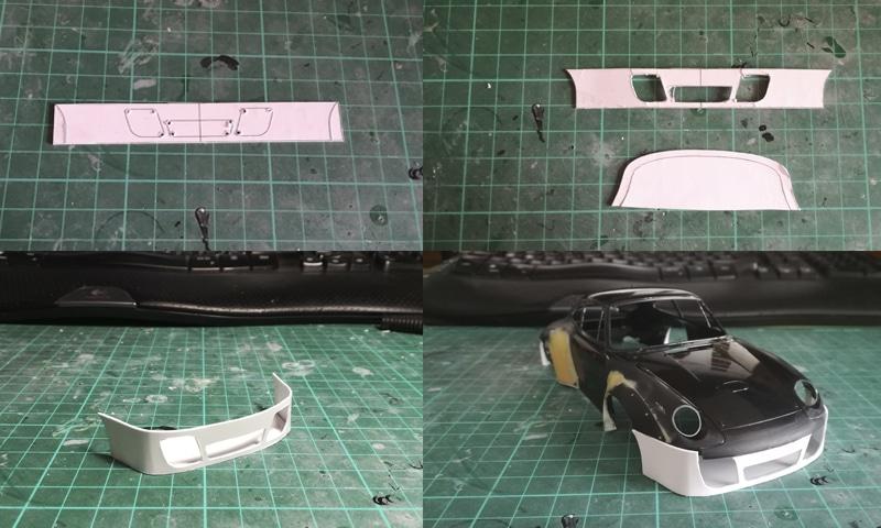 PORSCHE 911 GT2 parachoques