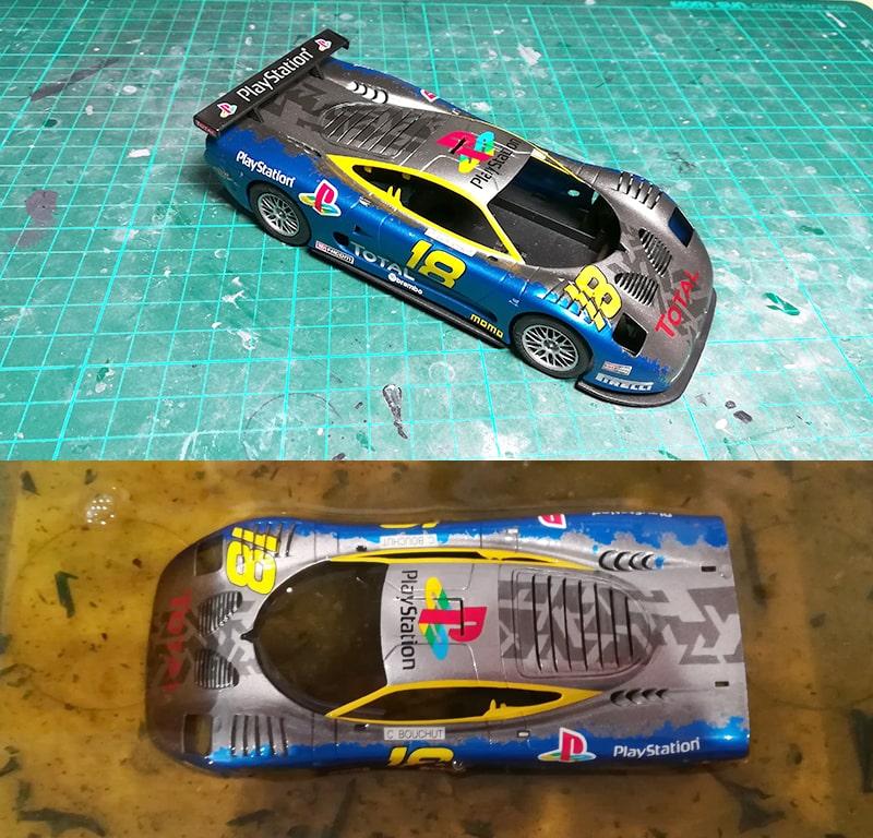 Mosler GT900 Ninco despintado