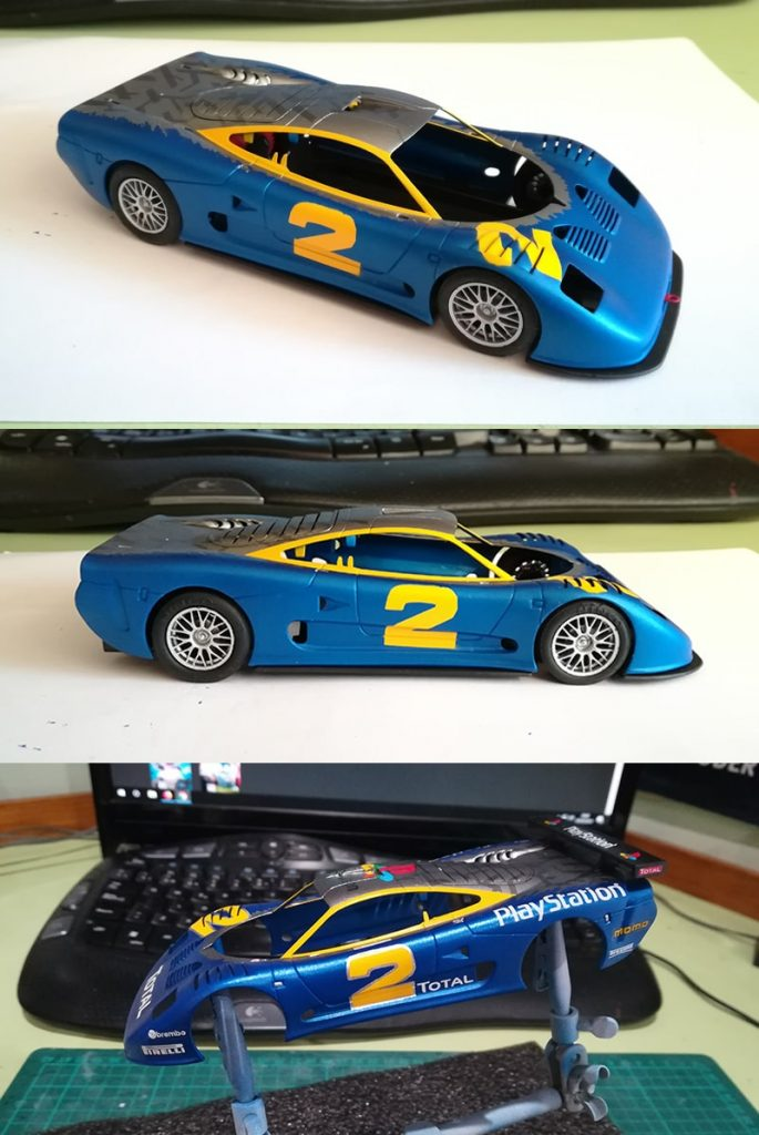 Mosler GT900 Ninco Pintura finalizada