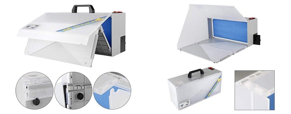 Cabina de pintura portatil