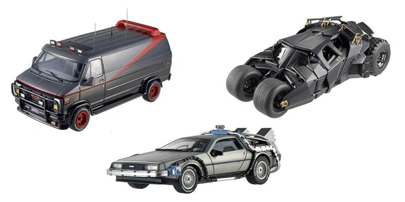 Maquetas de coches de Películas