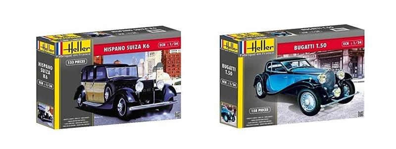 Maquetas de coches Heller
