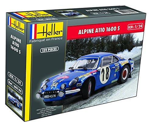 Maquetas de coches Heller Alpine A110 1/24