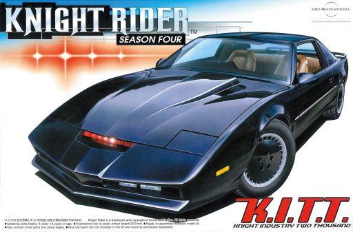 Maqueta de coches Aoshima knight Rider