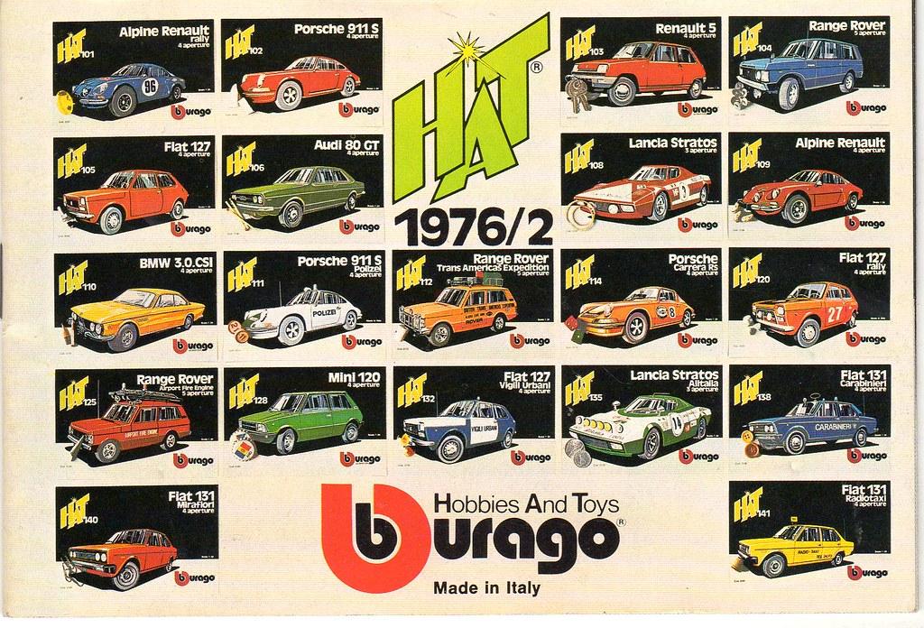 Maquetas de coches Bburago 1976