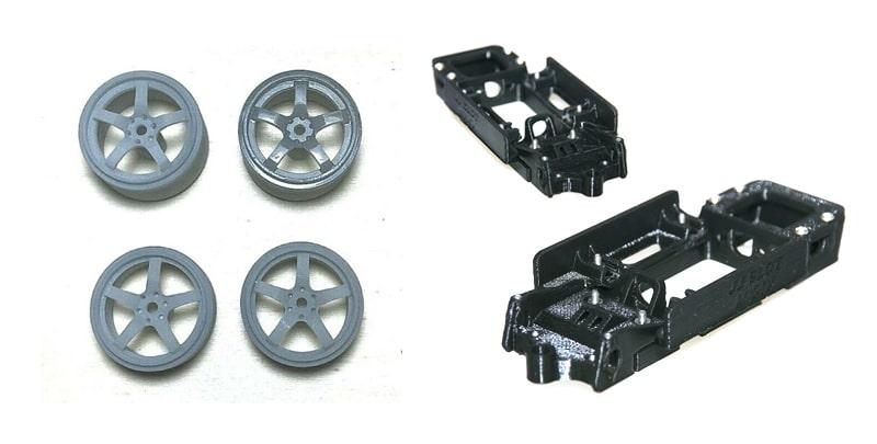 Impresoras 3D Objetos impresos