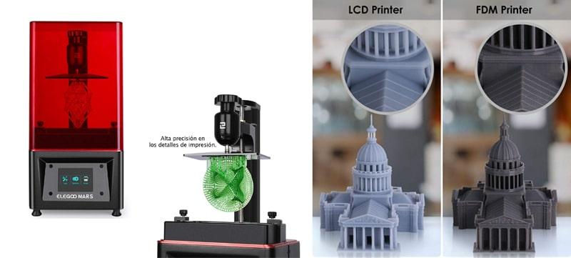 Impresoras 3D resina