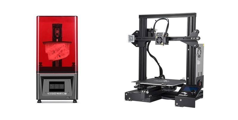 Impresoras 3D Resina Filamento