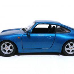Restauración y personalización de Porsche 911 Carrera Bburago